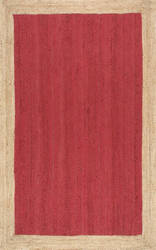 Nuloom Hand Woven Eleonora Red Area Rug