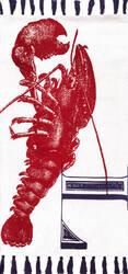Nuloom Thomas Paul Flatweave Lobster Red Area Rug