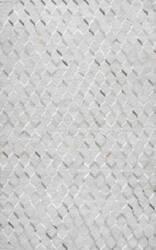 Nuloom Handmade Grenier Cowhide Grey Area Rug
