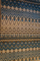 ORG Contempo 10 Blue And Brown Area Rug