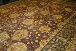 ORG Peshawar Ult-167 Brown - Grey Area Rug