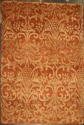 ORG Premium Tibetan Wrought Iron Terracotta Area Rug