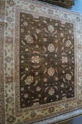 ORG Peshawar Ult-209 Brown And Beige Area Rug