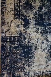 ORG Texture Cea7209 Black Area Rug