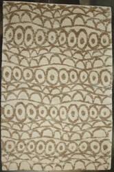 ORG Premium Tibetan Dizzle Brown A18259c100 Rustic Area Rug