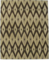 ORG Ikat Tufted ST-506 Brown Area Rug