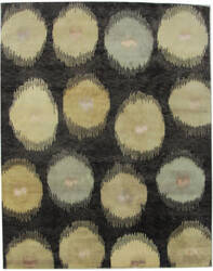 ORG Tibetan Weave 430-B Black Multi Area Rug