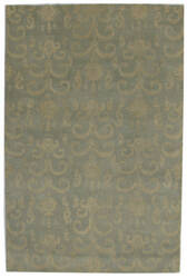 ORG Ikat-Tufted ST-505 Blue Green Area Rug
