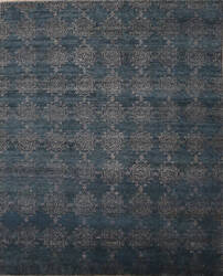 ORG Synthesis Modality C3 Jeweled Blue Area Rug