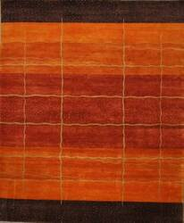 ORG Tibetan Weave D-003 (80 Knot) Rust Area Rug