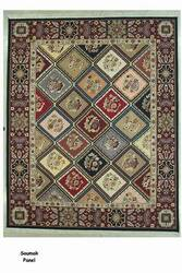 ORG Soumak Panel Multi Area Rug