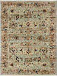 Oriental Weavers Anatolia 8020h Blue - Gold Area Rug