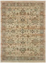 Oriental Weavers Anatolia 8020j Sand - Blue Area Rug