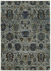 Oriental Weavers Andorra 7120a Blue Area Rug