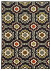 Oriental Weavers Arabella 15834 Black/Grey Area Rug