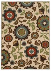 Oriental Weavers Arabella 41888 Ivory Area Rug