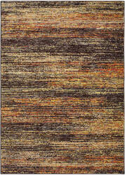 Oriental Weavers Atlas 8037c Gold - Charcoal Area Rug