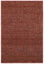 Oriental Weavers Atlas 8048k Red - Rust Area Rug