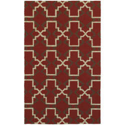 Tommy Bahama Atrium 51103 Red Area Rug