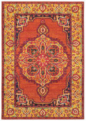 Oriental Weavers Bohemian 3339y Orange - Yellow Area Rug