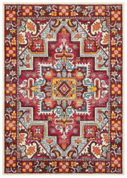 Oriental Weavers Bohemian 5330r Red - Pink Area Rug