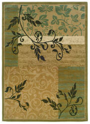 Oriental Weavers Camden 2395c Green/Gold Area Rug