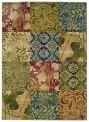 Oriental Weavers Camden 2422a Beige/Green Area Rug