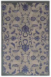 PANTONE UNIVERSE Color Influence 45105 Blueprint/Dove Area Rug