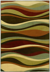 Oriental Weavers Darcy 4442n Brown/Green Area Rug