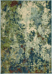 Oriental Weavers Dawson 8021b Blue - Green Area Rug