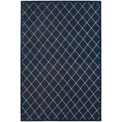 Oriental Weavers Ellerson 90q Navy Area Rug