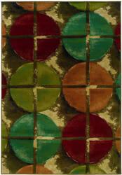 Oriental Weavers Emerson 3680b Brown/Teal Area Rug
