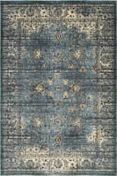Oriental Weavers Empire 114l Blue - Ivory Area Rug