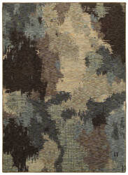 Oriental Weavers Evolution 8011b Blue - Brown Area Rug