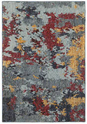 Oriental Weavers Evolution 8036c Blue - Red Area Rug