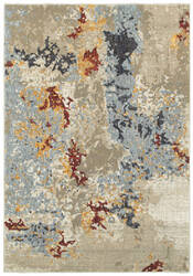 Oriental Weavers Evolution 8043k Beige - Blue Area Rug