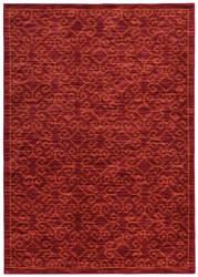 Oriental Weavers Harper 40249 Red / Orange Area Rug