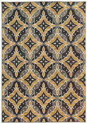 Oriental Weavers Harper 46181 Charcoal / Gold Area Rug