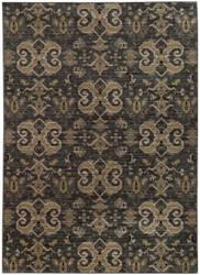 Oriental Weavers Heritage 2163d Blue / Gold Area Rug