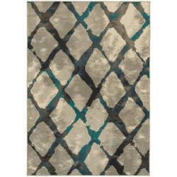 Oriental Weavers Highlands 6613a Grey Area Rug