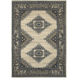 Oriental Weavers Highlands 6658b Beige Area Rug