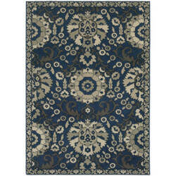 Oriental Weavers Highlands 6682a Midnight Area Rug