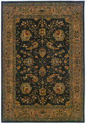 Oriental Weavers Infinity 1104f Black/Tan Area Rug