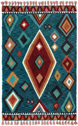 Oriental Weavers Madison 61402 Blue - Pink Area Rug