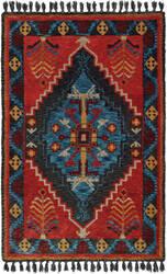 Oriental Weavers Madison 61403 Rust - Blue Area Rug