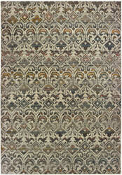Oriental Weavers Mantra 1330w Ivory - Grey Area Rug