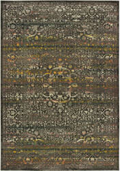 Oriental Weavers Mantra 508n7 Grey - Gold Area Rug