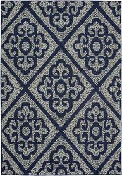Oriental Weavers Marina 3804b Navy - Ivory Area Rug