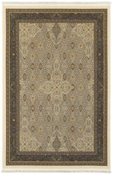 Oriental Weavers Masterpiece 1335i Ivory - Black Area Rug