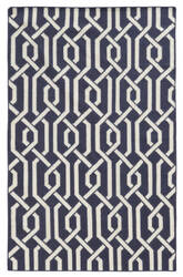 PANTONE UNIVERSE Matrix 4260p Purple/ Ivory Area Rug